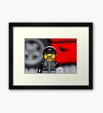 License and Registration! Framed Print
