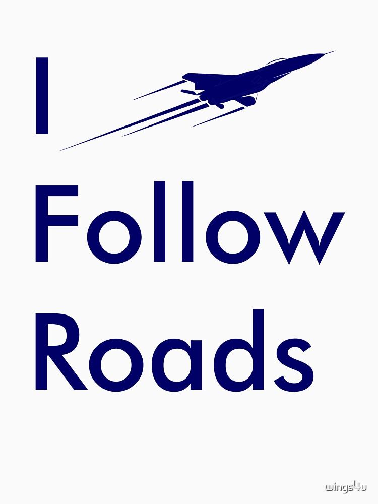Model 26 - I Follow Roads by wings4u