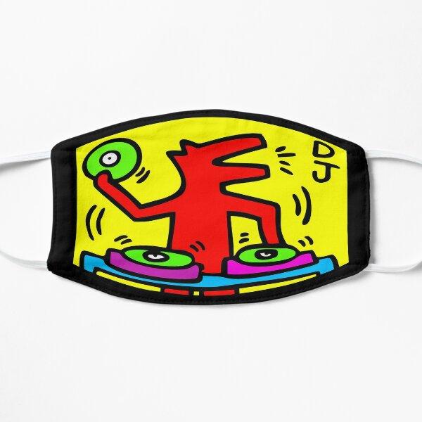 Keith Haring - DJ / 1988 / Talking Heads / Abstract / Pop Art Flat Mask