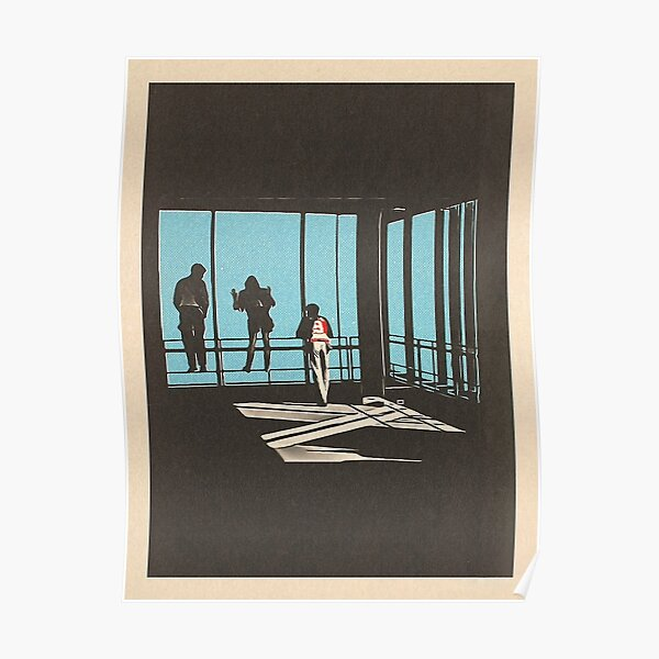 Ferris Bueller - Sears Tower Poster