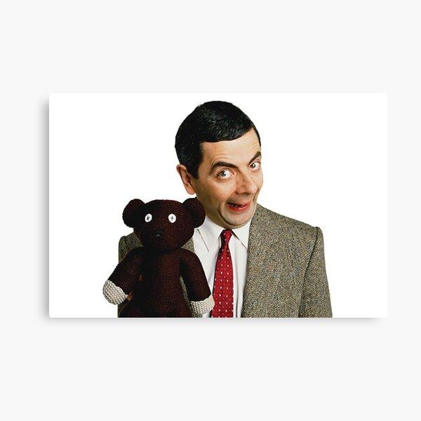 M. Bean et Teddy Impression sur toile
