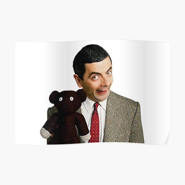 Mr. Bean and Teddy Poster