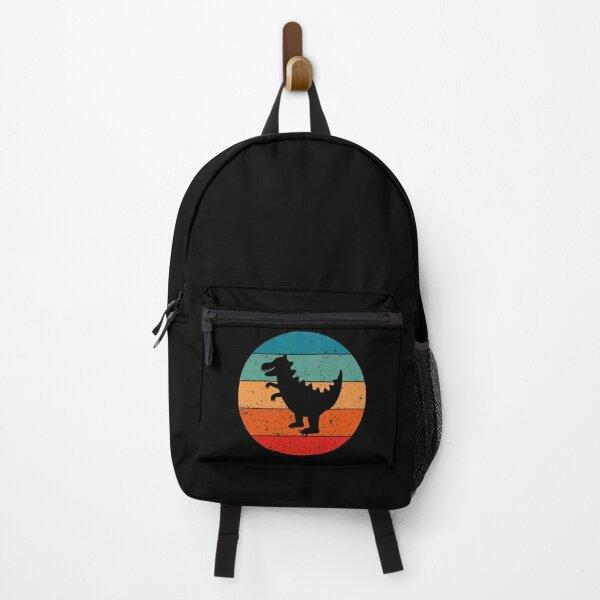 Vintage Dinosaur Backpack