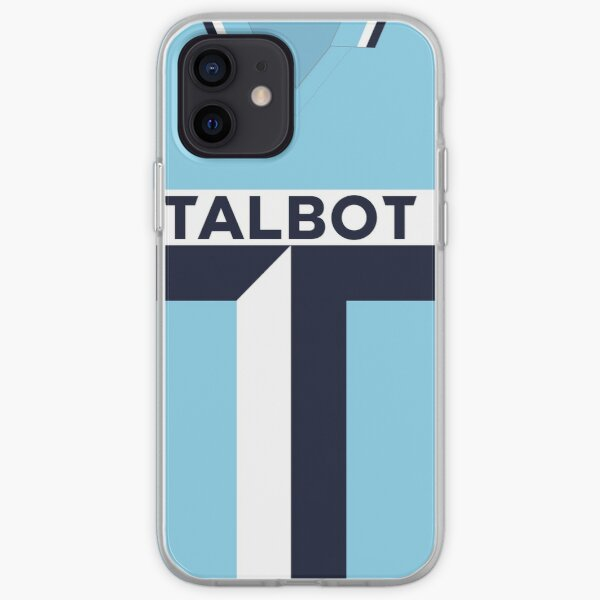 Coventry City Classic Kit 1981 - 1983 iPhone Soft Case