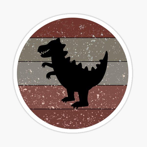 Vintage Dinosaur Sticker