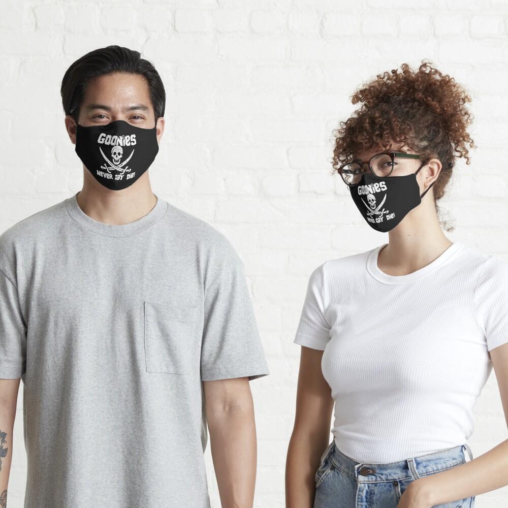 Goonies Never Say Die! Distressed Design For Men, Women, Kids Mask
