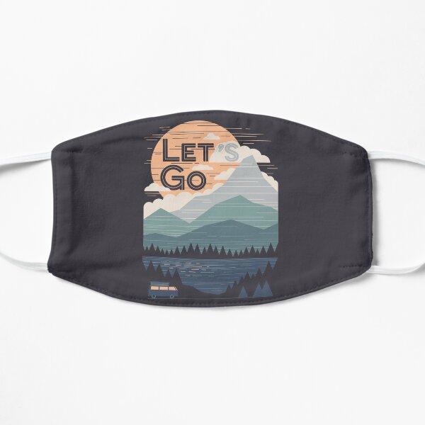 Let's Go Flat Mask