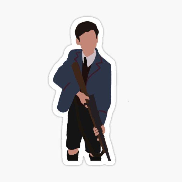 Número cinco (The Umbrella Academy) Pegatina