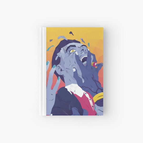 Everything Everything - 'Get To Heaven' low poly design Hardcover Journal