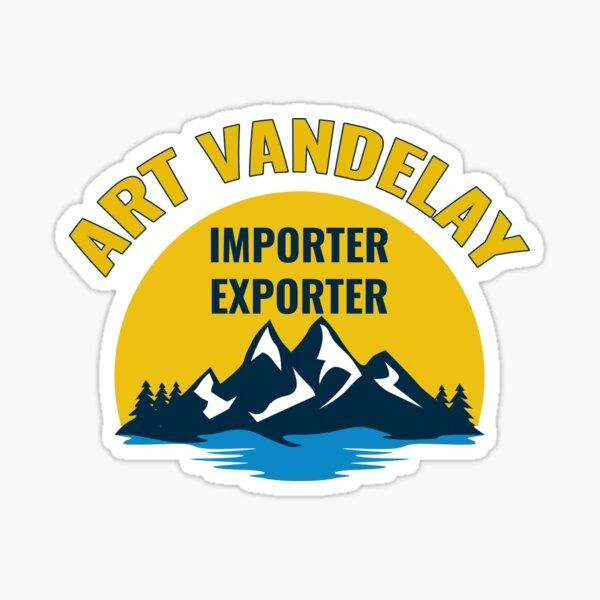 Art Vandelay Importer Exporter Sticker