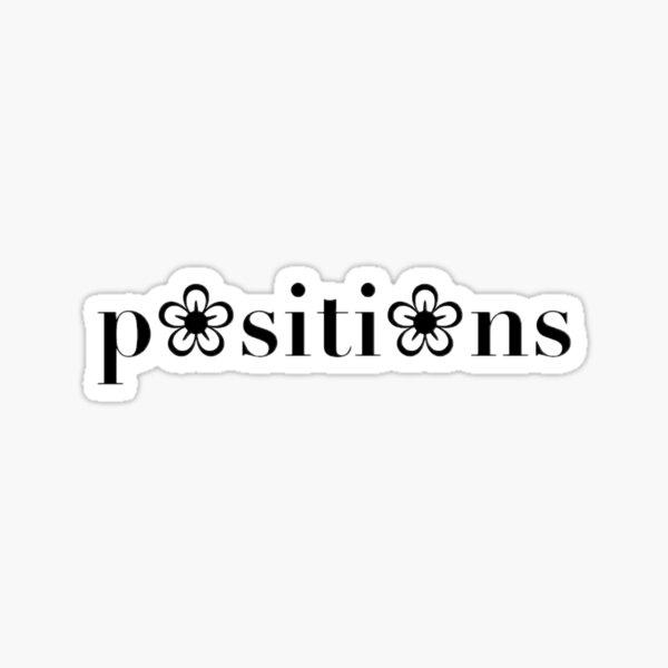 positions Sticker