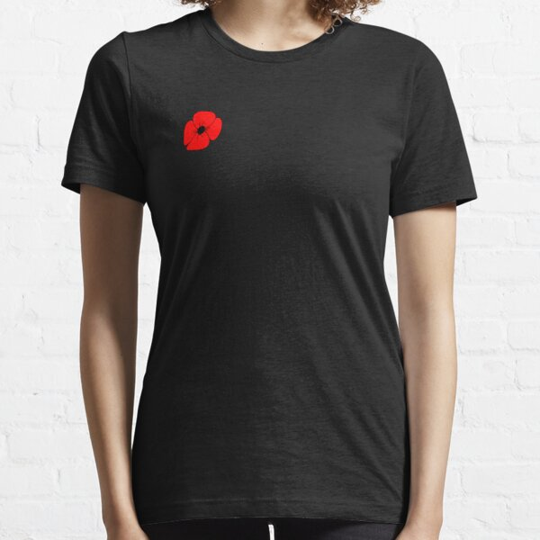 Poppy Remembrance Day T-Shirt Armistice Remembrance Day Unisex Adults Top