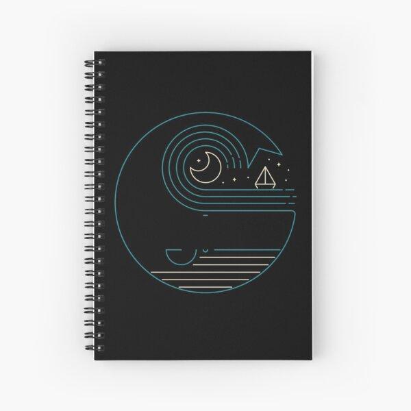 Moonlight Companions Spiral Notebook