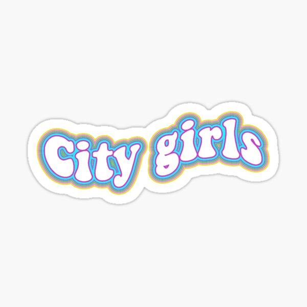 City girls make em wish like ray j Sticker
