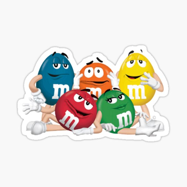 m&m's Dream Team Sticker