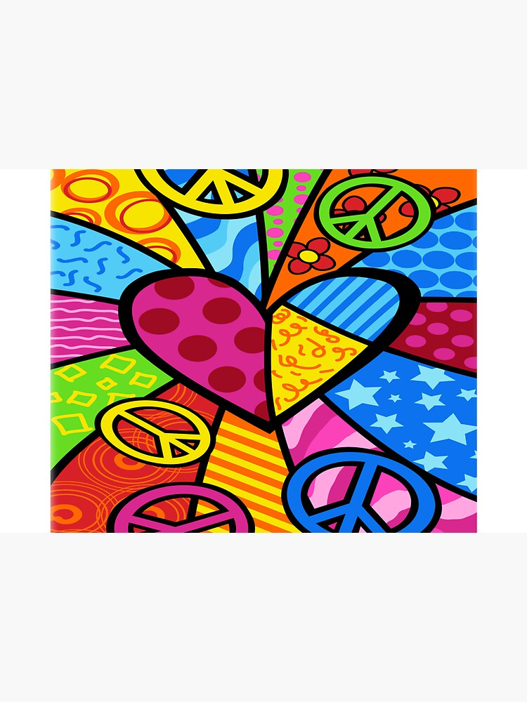 Multicolored Peace Sign Merchandise by cindyfordyce