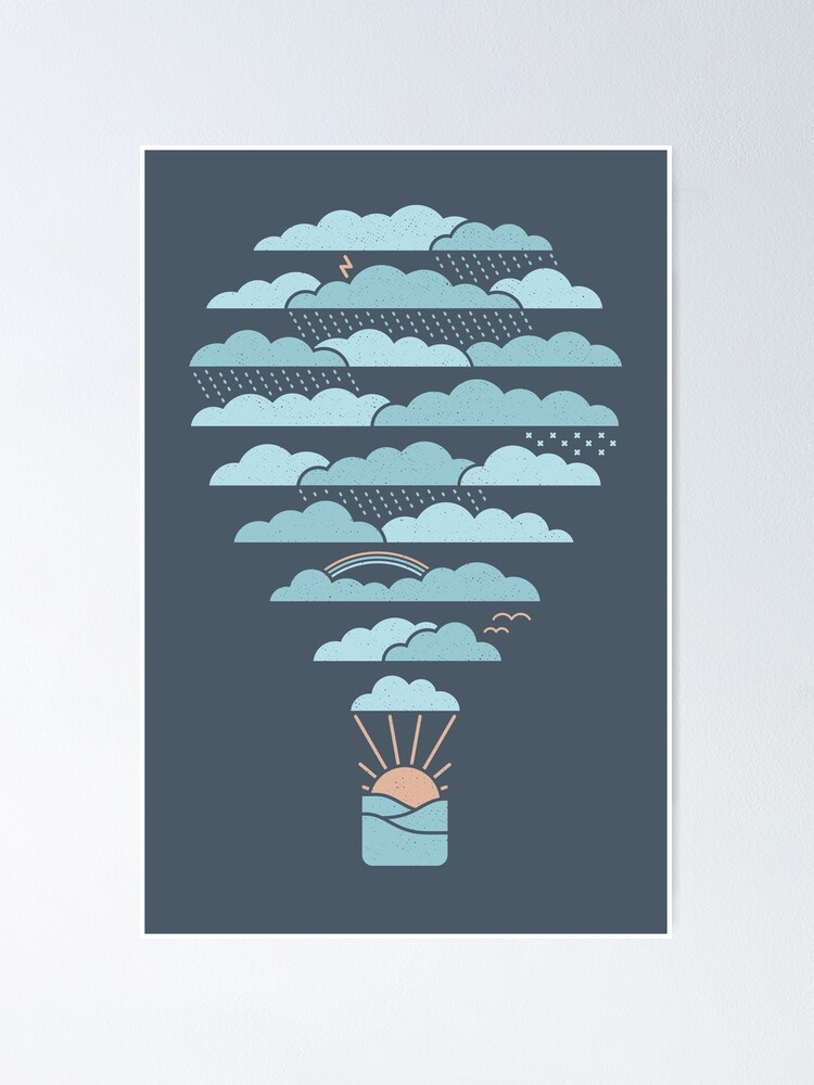 Alternate view of Weather Balloon Poster