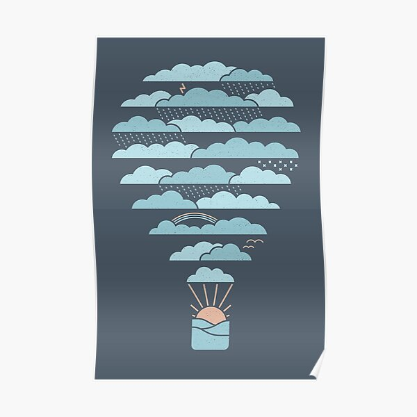Weather Balloon Poster