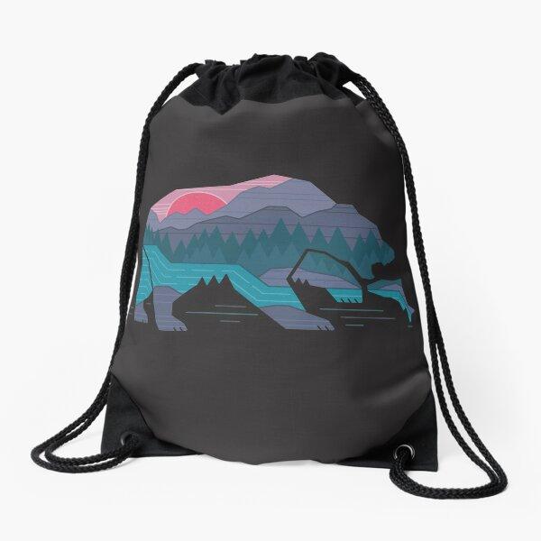Bear Country Drawstring Bag