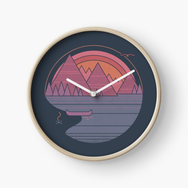 The Mountains Are Calling Clock