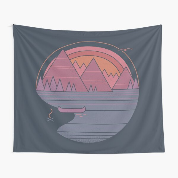 The Mountains Are Calling Tapestry