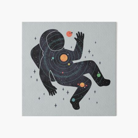 Inner Space Art Board Print