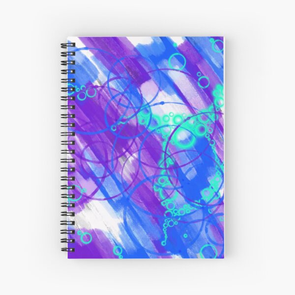 Cold City Nights Spiral Notebook