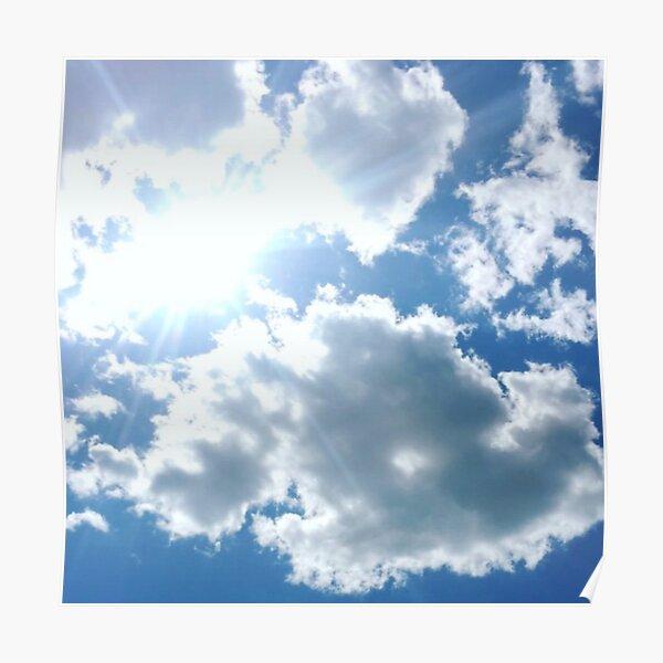 sunny sky Poster