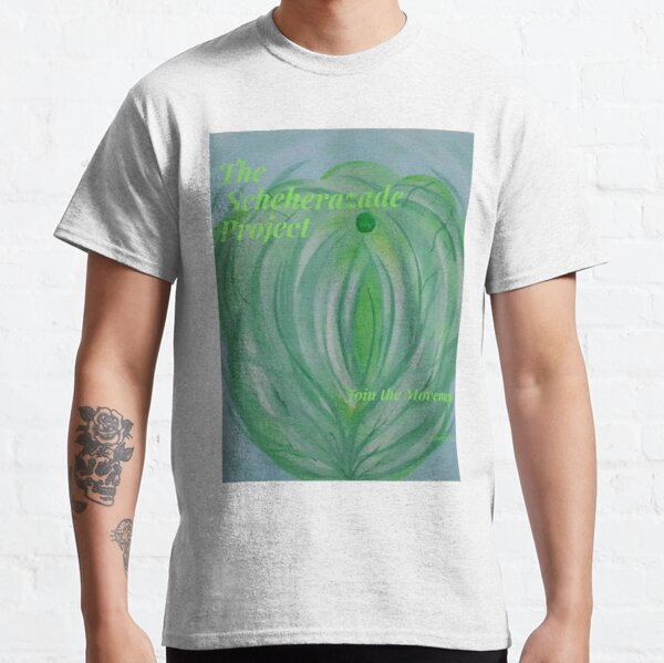 1/101 Scheherazade Project's Georgia Reash-Mint tea Minky Classic T-Shirt