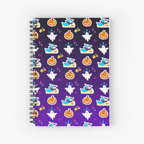 It's spooky time, baby! Spiral Notebook