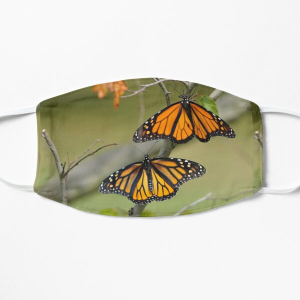 Male and Female Monarchs Mask