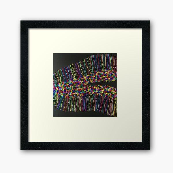 Fragile Memory Framed Art Print