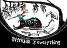 Attitude is everything (collaboration) by Jenny Wood