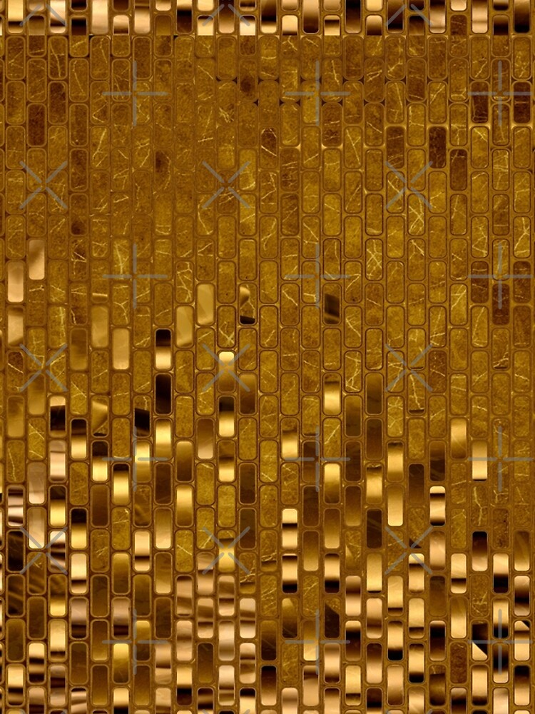 Gold Sequins   Gold Metallic Texture   70s Disco Inspired  by Gascondi