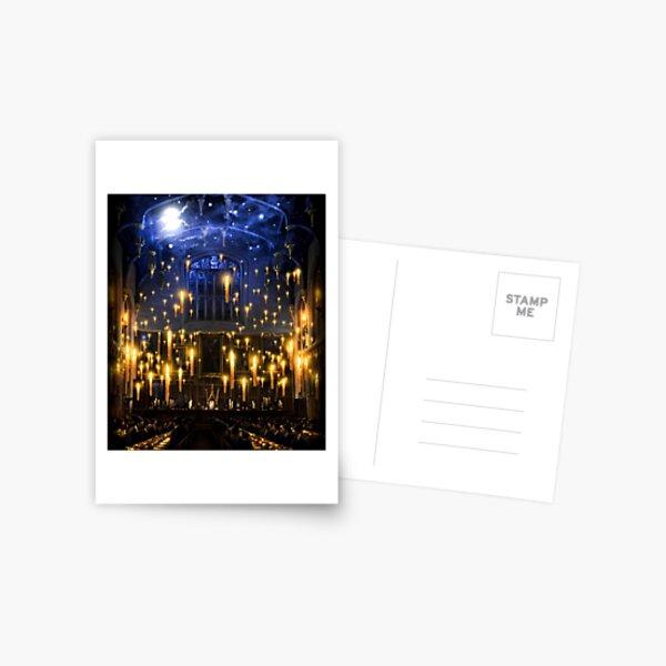 Bougies au clair de lune Carte postale