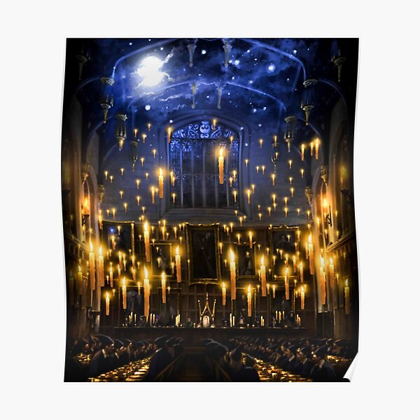 Moonlight candles Poster