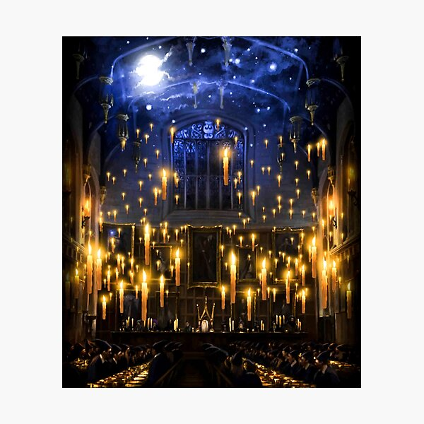 Moonlight candles Photographic Print