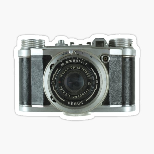 Emily in Paris Vintage Camera Phone Case Sticker
