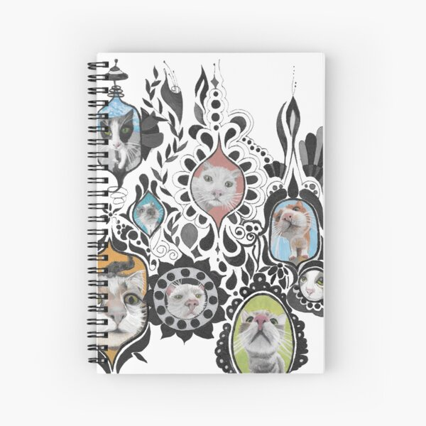 Mirror Cats Spiral Notebook