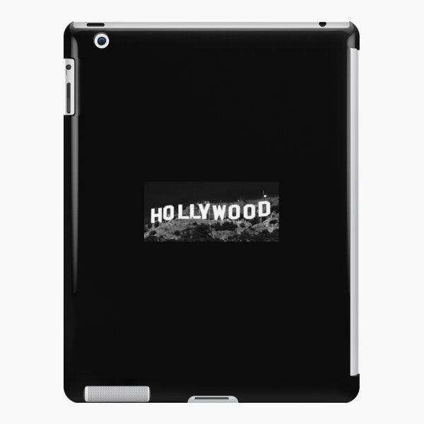 Hollywood is Black & White iPad Snap Case