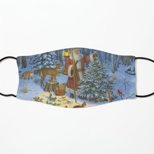 Santa Claus and the Animals' Christmas Tree Kids Mask