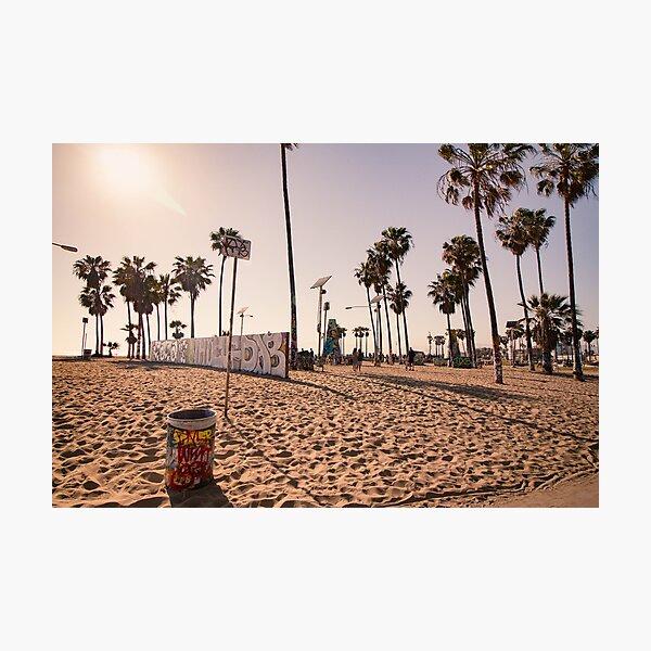 Venice Beach Boardwalk Photographic Print