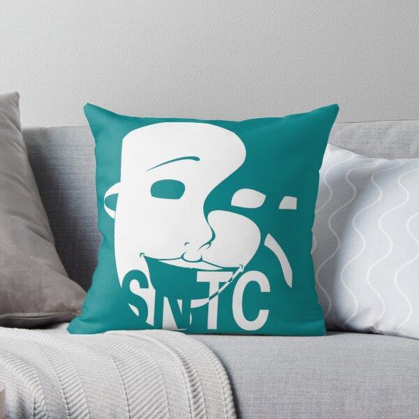 SNTC Theatre Mask Throw Pillow