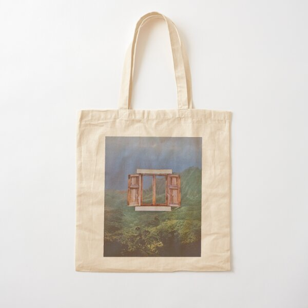 World Of One View Cotton Tote Bag