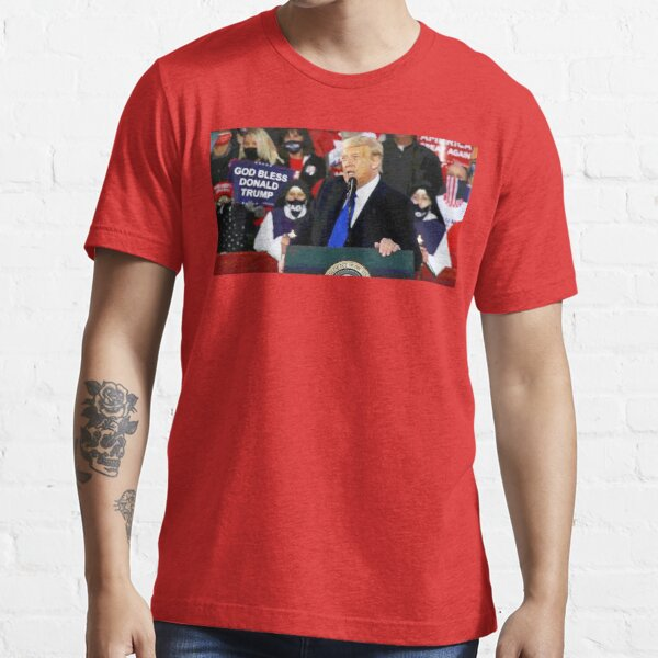 God Bless Donald Trump Essential T-Shirt