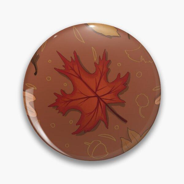 Autumn leaves pattern Pin