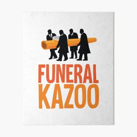 Funeral Kazoo Art Board Print