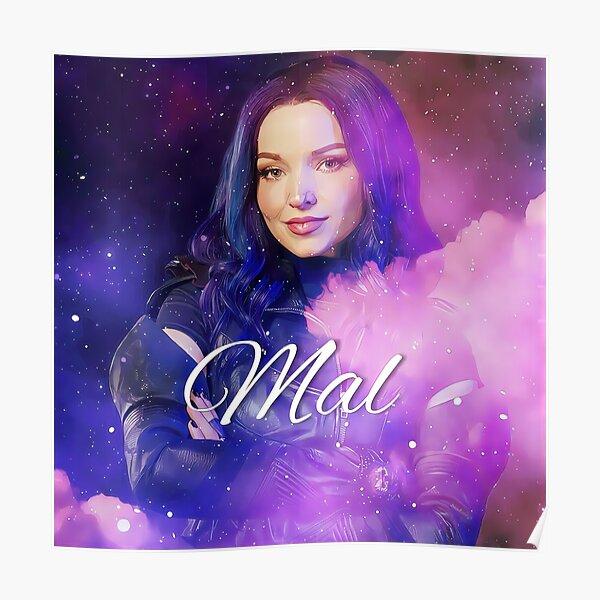 Mal Purple Queen - Descendants 3  Poster