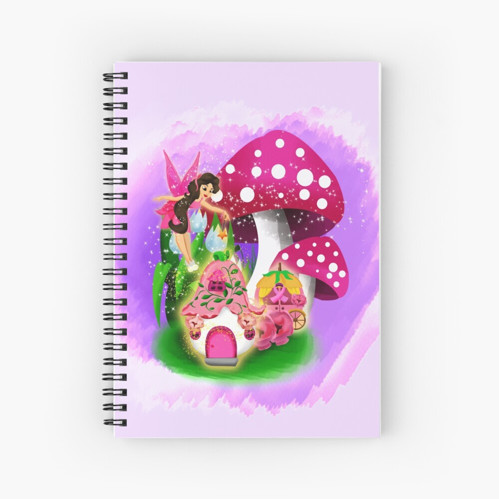 Meet Esperanza the Hope and Faith Fairy™ Spiral Notebook