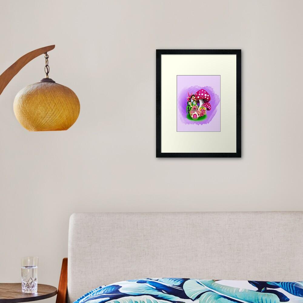 Meet Esperanza the Hope and Faith Fairy™ Framed Art Print
